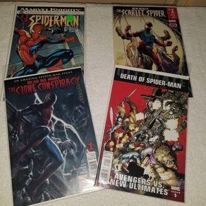 Spider-man lot 4